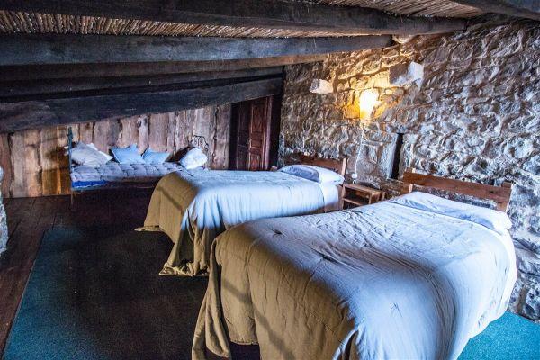 Habitació altell cabanya
