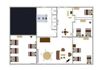 1a planta - casa principal